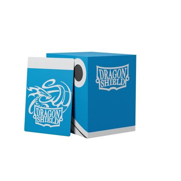 Dragon Shield: Double Deck Shell 150+: Blue/Black