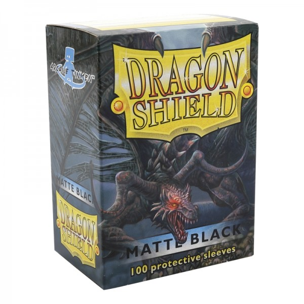 Dragon Shield: Matte – Black (100)
