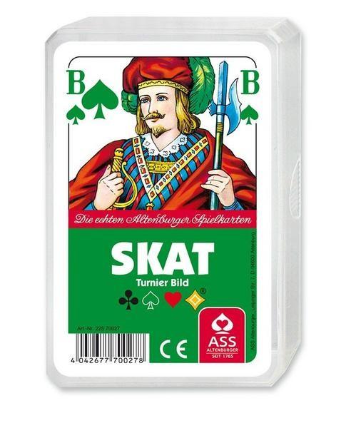 Skat, französisches Bild, Turnierbild