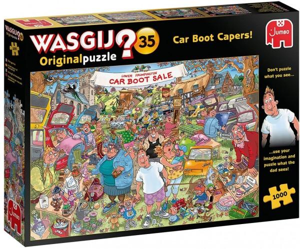 Wasgij Original 35: Flohmarkt-Chaos! (1000 Teile)
