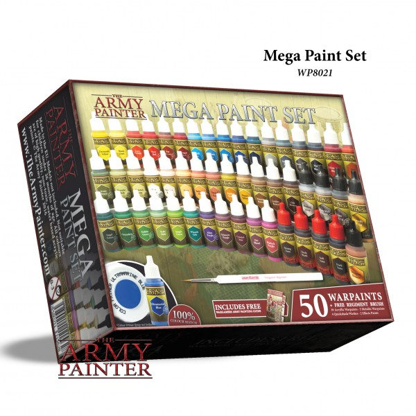 Army Painter - New Mega Paint Set 2019