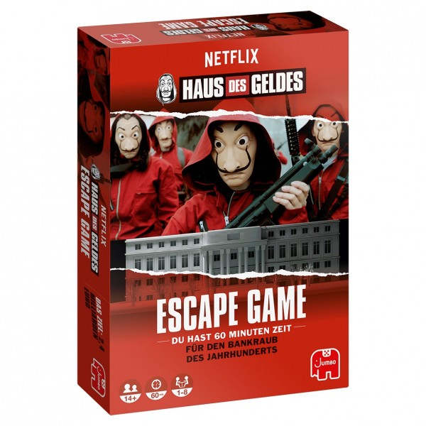 Haus des Geldes – Escape Game
