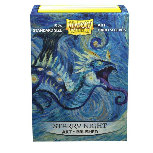 "Dragon Shield: ART Sleeves Classic –""Starry Night"""