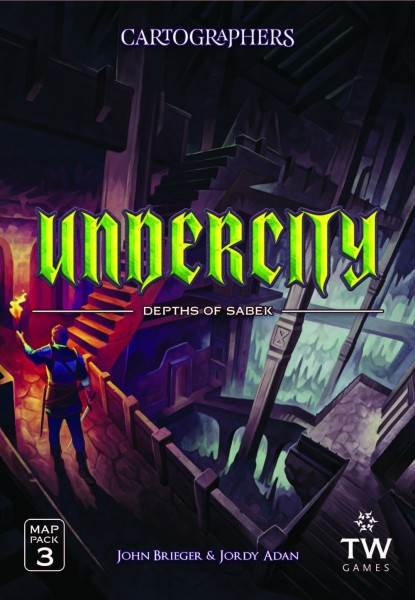 Cartographers: Heroes Map Pack 3 - Undercity
