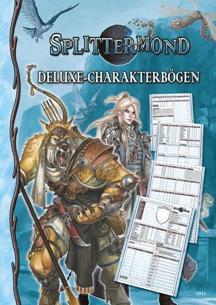 Splittermond: Deluxe-Charakterbögenset