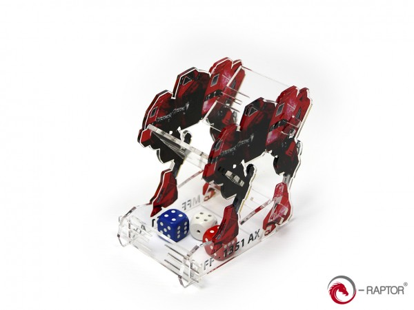 Dice Towers: MFF Mech (Red)