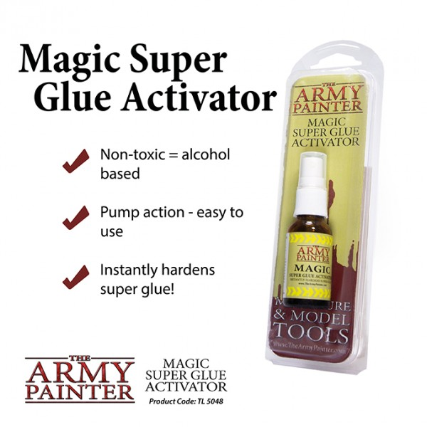 Army Painter - Magic Super Glue Activator (20ml)