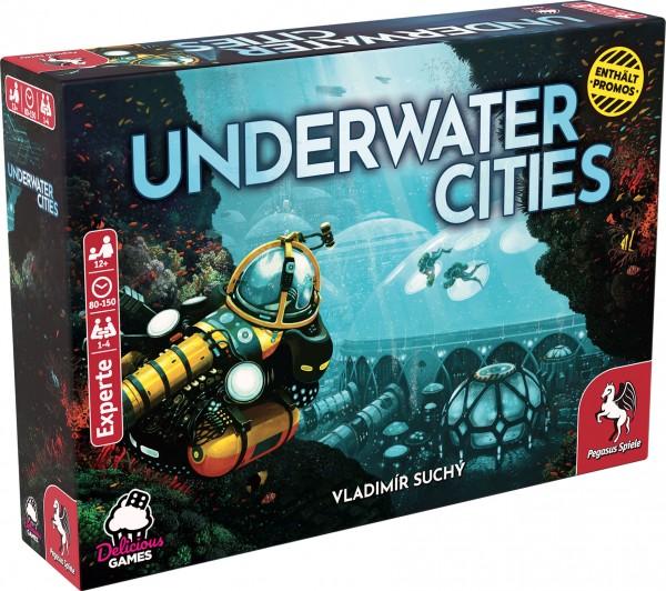 Underwater Cities (deutsche Ausgabe) *Empfohlen Kennerspiel 2020*