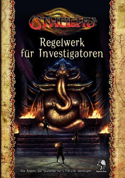 Cthulhu: Regelwerk für Spieler (Hardcover)