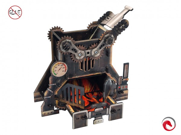 Dice Towers: Steam Punk Furnace
