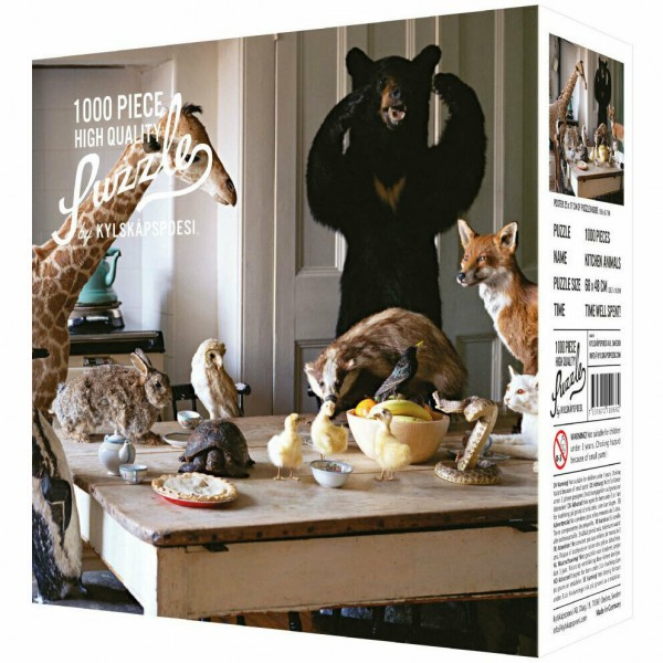 High Quality Puzzle Kitchen Animals (1000 Teile)