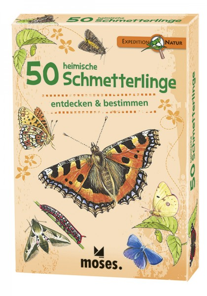 Expedition Natur – 50 heimische Schmetterlinge