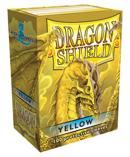 Dragon Shield: Yellow (100)
