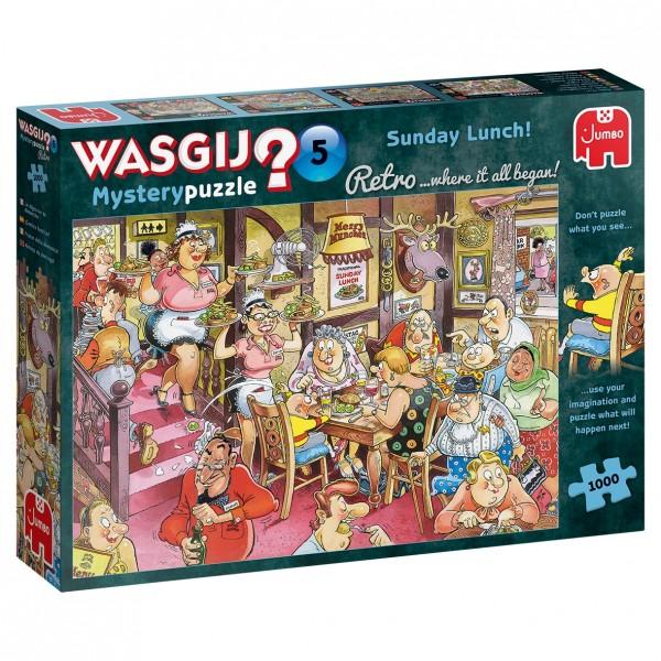 Wasgij Retro Mystery 5: Sonntagsessen! (1000 Teile)