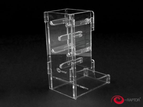 Dice Towers: Cuboid (Clear)