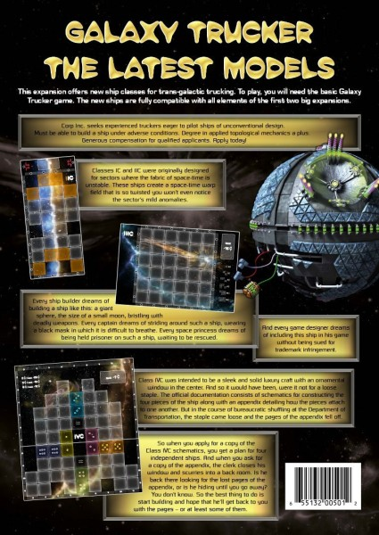 Galaxy Trucker: Latest Models