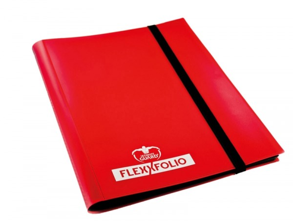 Ultimate Guard: 9-Pocket FlexXfolio - Red