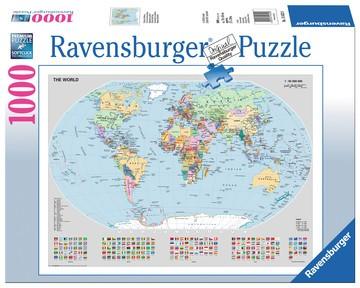 Puzzle: Politische Weltkarte (1000 Teile)