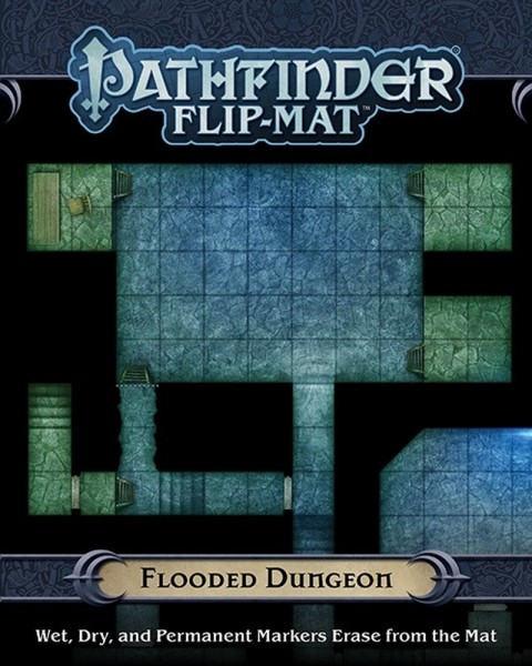 Flip-Mat: Flooded Dungeon