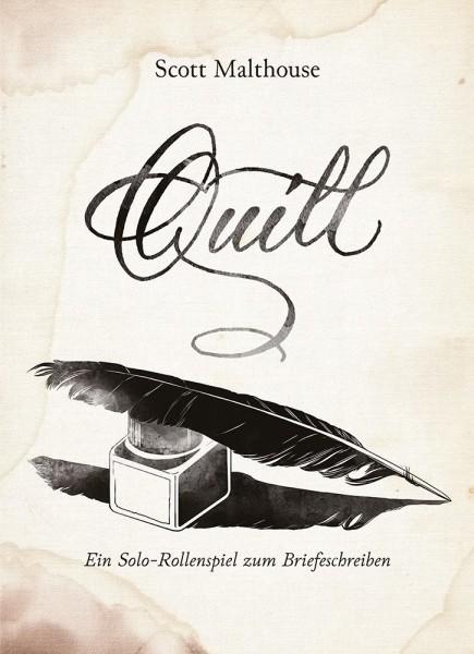 Quill - Ein Solorollenspiel zum Briefeschreiben