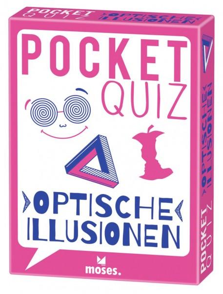 Pocket Quiz - Optische Illusionen *Neu*