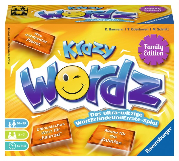 Krazy WORDZ - Family Edition *Neu*