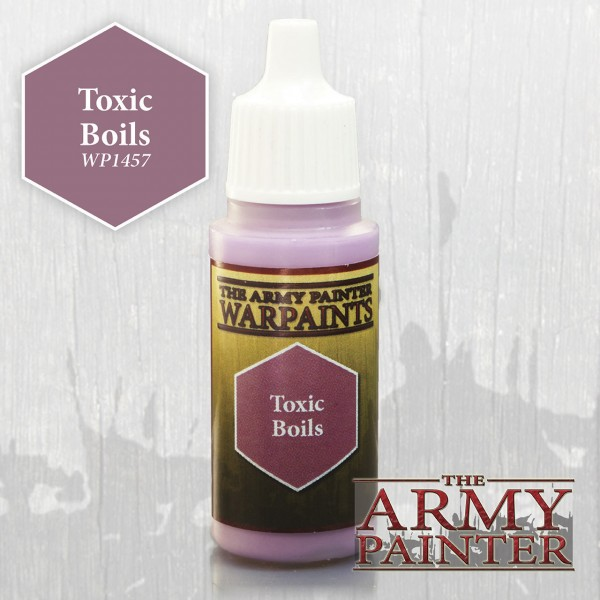 Army Painter Paint: Toxic Boils