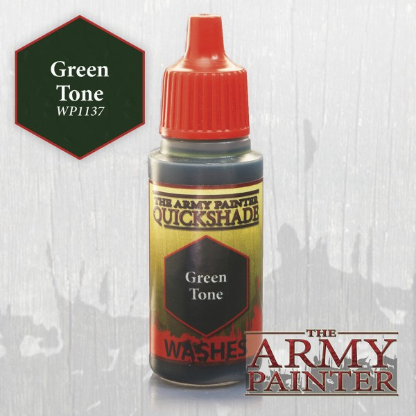 Army Painter Paint: Green Tone Ink