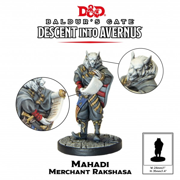 D&D: Descent into Avernus - Mahadi (1 Figur)