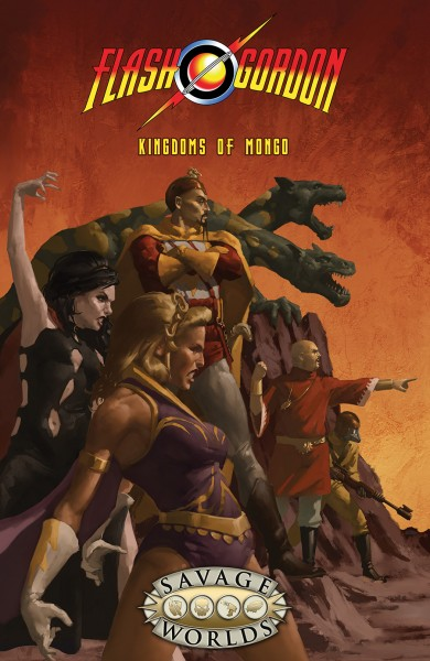 Flash Gordon: Kingdoms of Mongo *Limited* (HC)