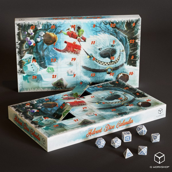 Advent Dice Calendar
