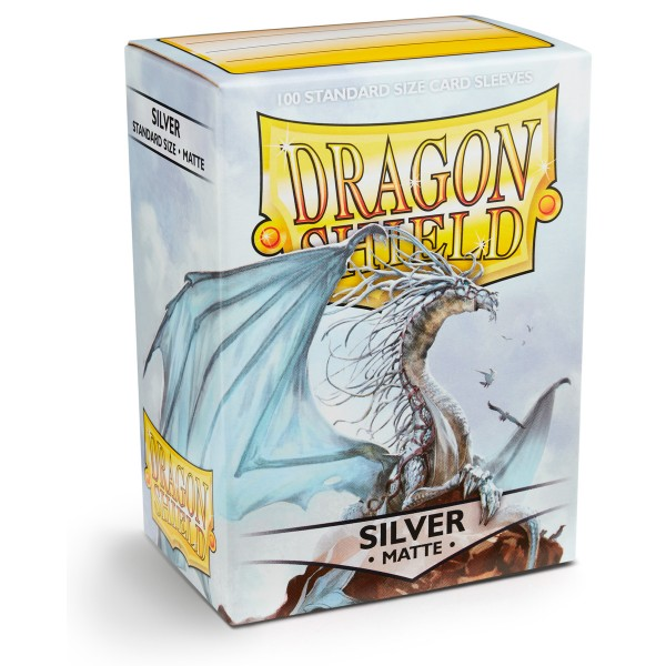 Dragon Shield: Matte – Silver (100)