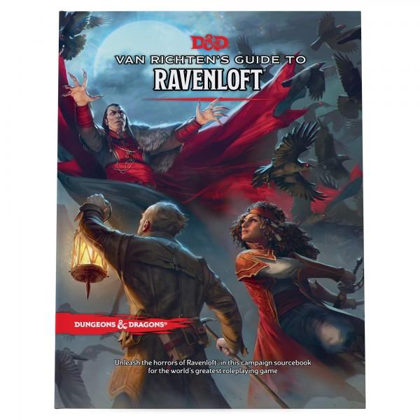 D&D: RPG Adventure Van Richten's Guide to Ravenloft