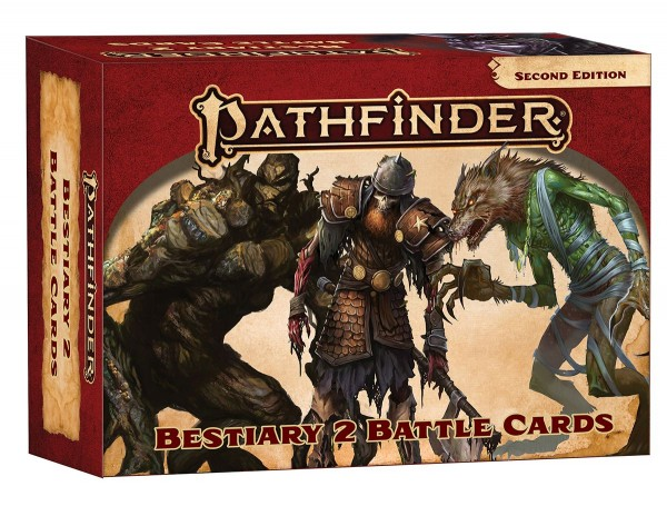 Pathfinder 2.0 Bestiary 2 Battle Cards