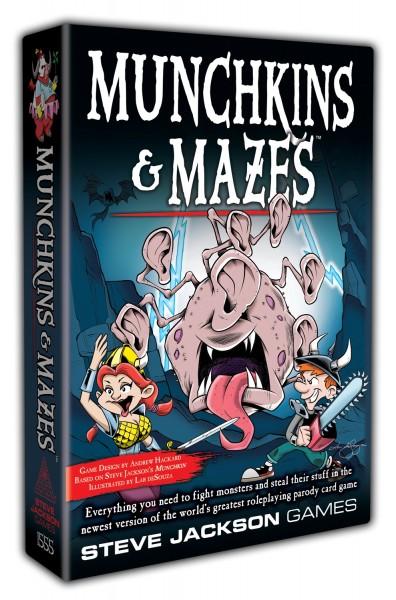 Munchkin & Mazes (englische Ausgabe)
