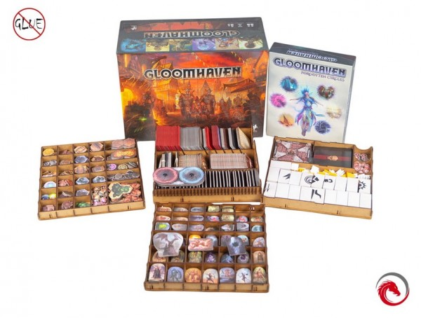 Insert: Gloomhaven + Forgotten Circle