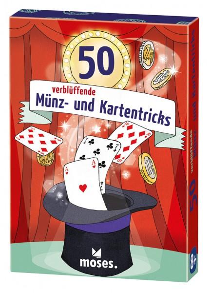 50 verblüffende Münz- und Kartentricks