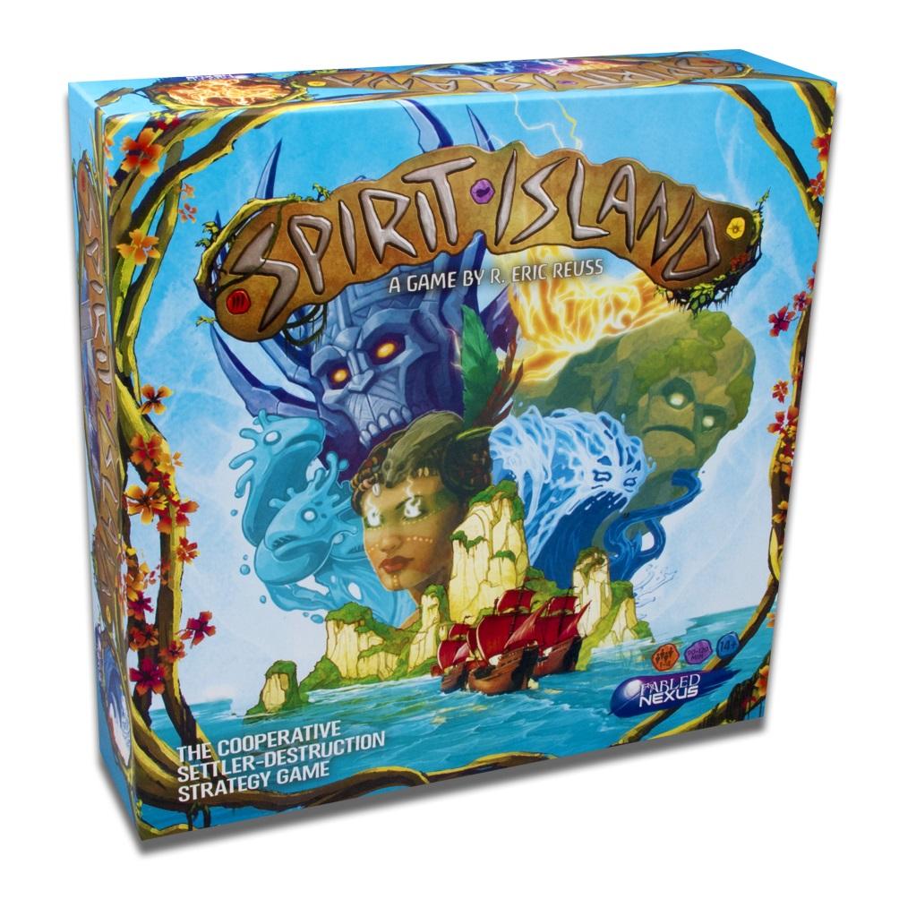 englische Ausgabe Spirit Island