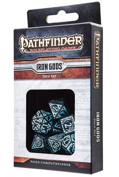 Pathfinder Iron Gods Dice Set (7 Stk.)