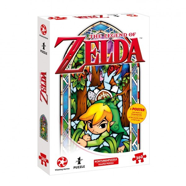 Puzzle: Zelda Link–Boomerang (360 Teile)