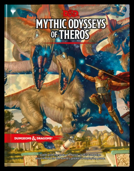 D&D: RPG Adventure Mythic Odysseys of Theros