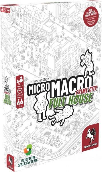 MicroMacro: Crime City 2 – Full House (englische Ausgabe)