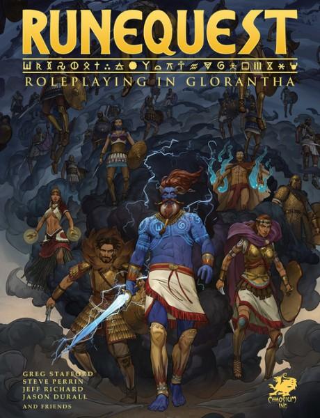 RuneQuest: Roleplaying in Glorantha Rulebook (HC)