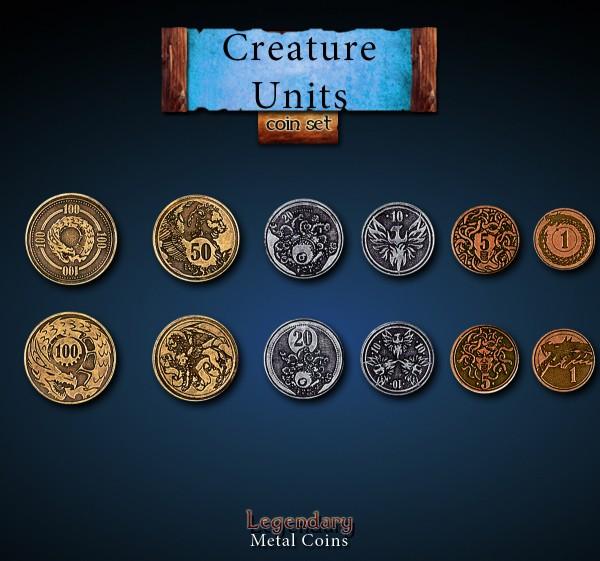 Creature Unit Set (24 Stück)
