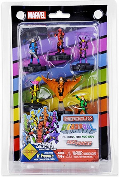 Marvel HeroClix: Mercs 4 Money Fast Forces Pack