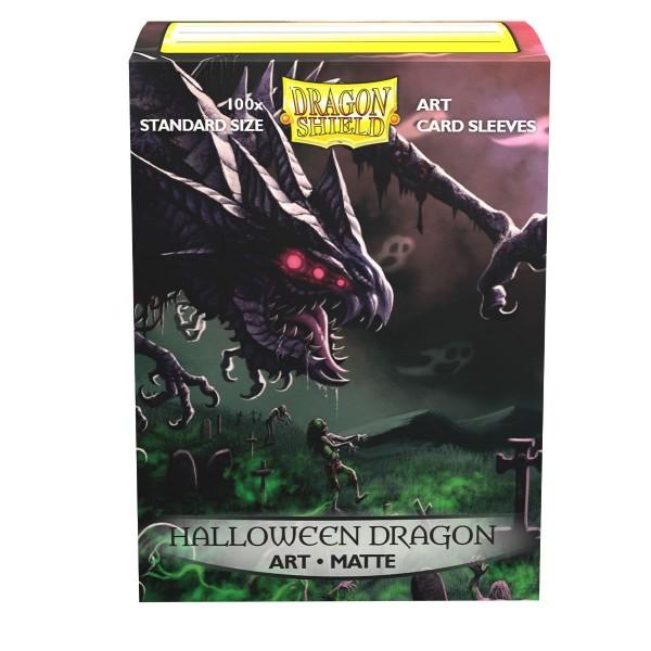 Dragon Shield: ART Sleeves Matte Classic – Halloween 2020(100)