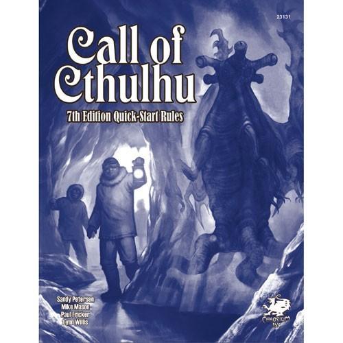 Cthulhu 7th Edition Quick Start