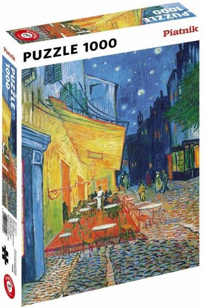 Puzzle: Vincent van Gogh, Caféterrasse am Abend ( 1000 Teile)