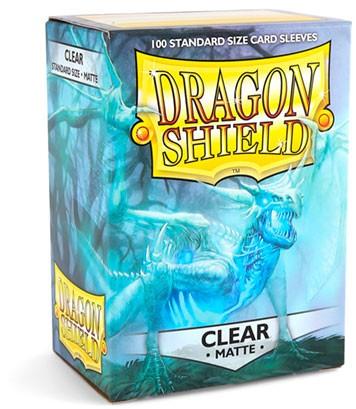Dragon Shield: Matte – Clear (100)