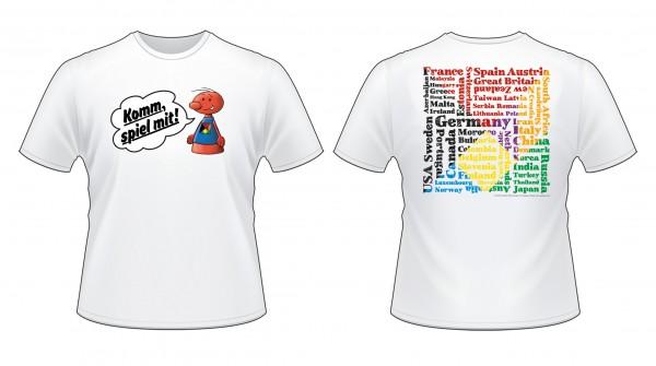 SPIEL T-Shirt, weiß, Größe: M
